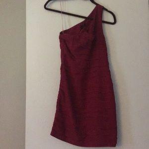 Aqua women's dress - one shoulder - XS